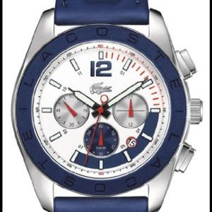 Lacoste Blue Panama Chronograph Watch